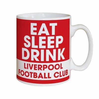 ספל מודפס - אוכל, שותה, ישן ליברפול