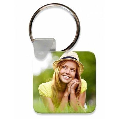 הדפסה על מחזיק מפתחות - מרובע