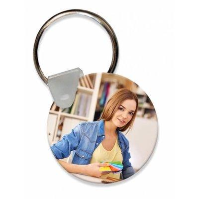 הדפסה על מחזיק מפתחות - עגול