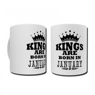 ספל Kings are born עם מגע אישי