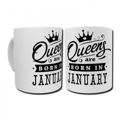 ספל queens are born עם מגע אישי