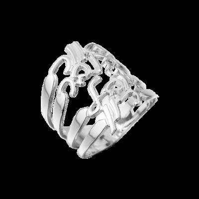 טבעת שמות אלגנטית