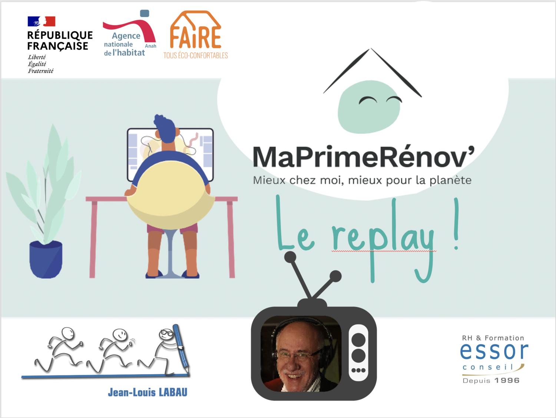 Webinar : MaPrimeRénov'