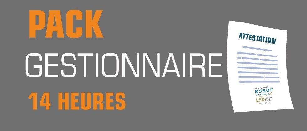 Pack Gestionnaire 14 Heures