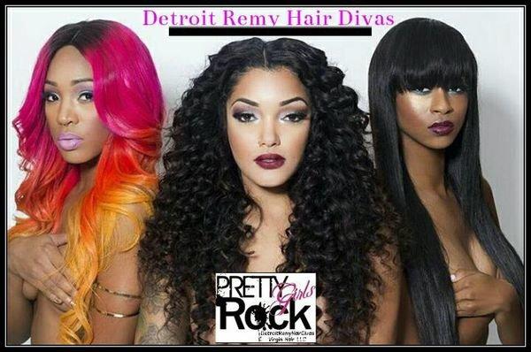 Detroit Remy Hair Divas