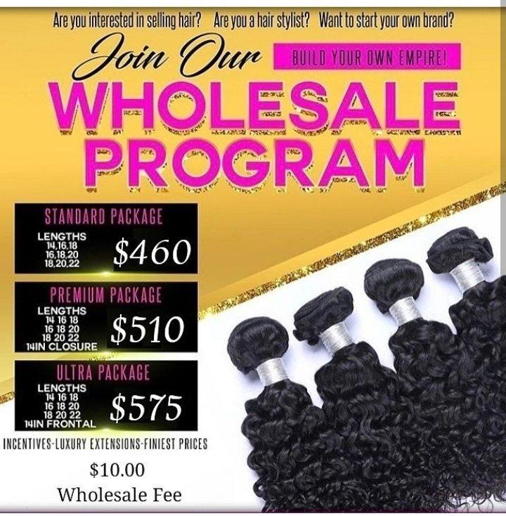 Wholesale Package #1  Standard