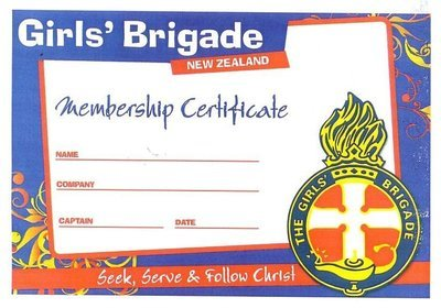 Membership Badge & Certificate