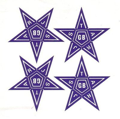 Juniors Gummed Stars