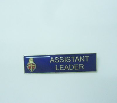 Assistant Leader's Badge & Appointment Card