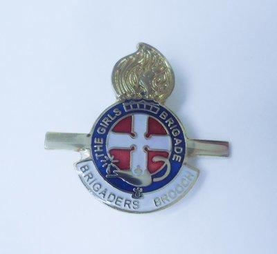 Brigader Brooch & Certificate
