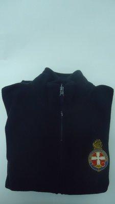 Polar Fleece Vests w Crest (sleeveless)
