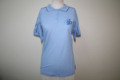 Leaders Polo Shirt Spring Blue (logo)
