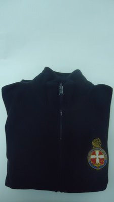 Leaders Navy Polar Fleece Vest (fitted)