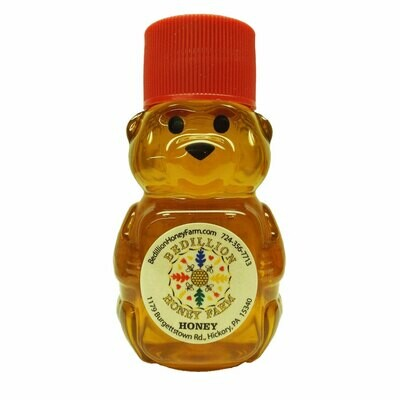 Pure Wildflower Honey Bear 2 oz.