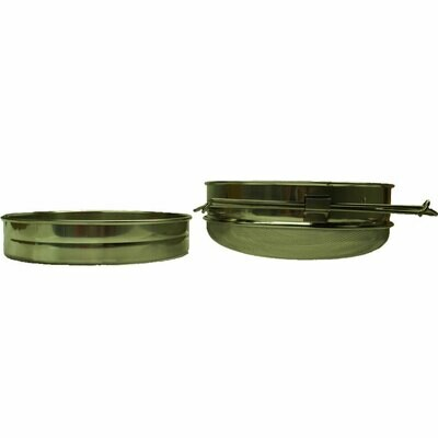 Double Stainless Steel Sieve