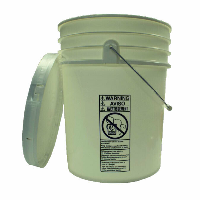 Honey Pail with Lid - 5 Gallon- On Farm Pickup Only