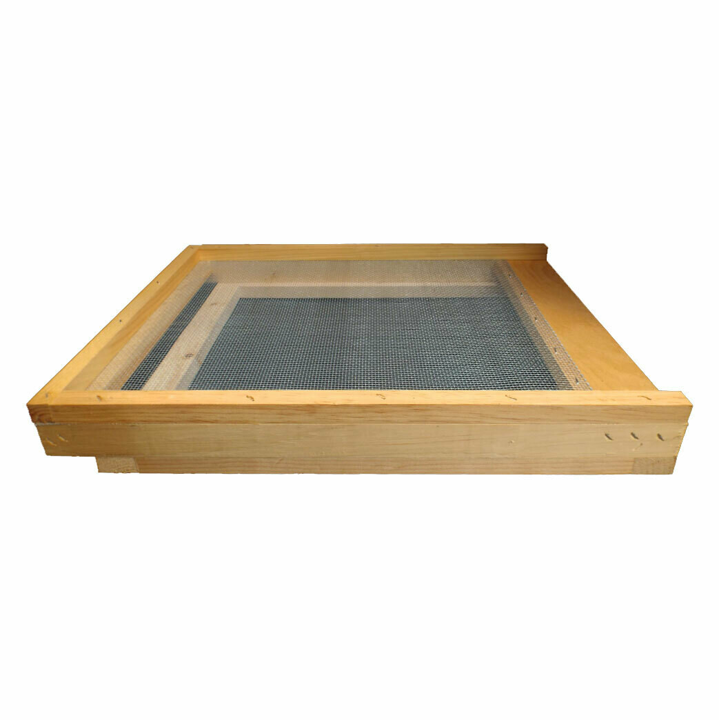 Screened Bottom Board with Mite Tray-On Farm Pickup Only