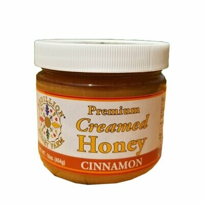 Cinnamon Creamed Honey 16 oz.