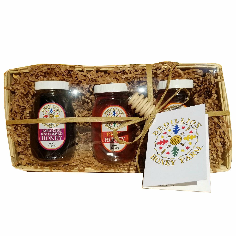 Honey Gift Basket-3 piece