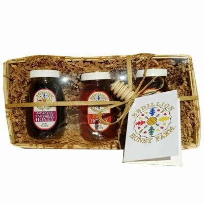 Honey Gift Basket-3 piece