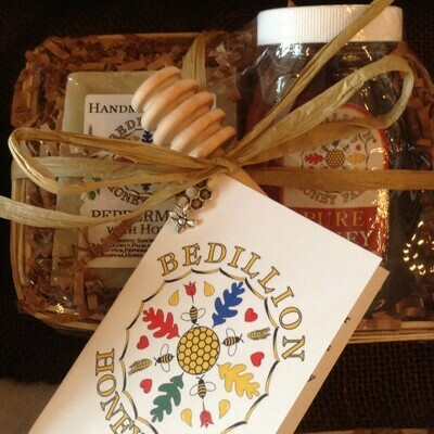 Honey Gift Basket , 2 Piece