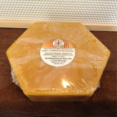 Beeswax, 16oz (Approx. 1 Lb)