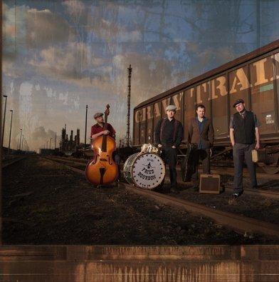 CD: FRIED BOURBON - GRAVY TRAIN (2012)