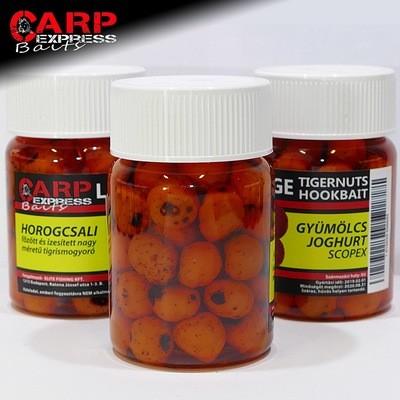 CPX Baits Főtt színezett Large tigrismogyoró horogcsali - Gyümölcs Joghurt - 50 gramm