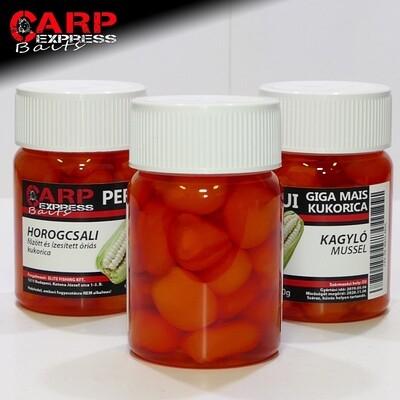 CPX Baits Főtt színezett Perui Giga kukorica horogcsali - Kagylós 50 gramm