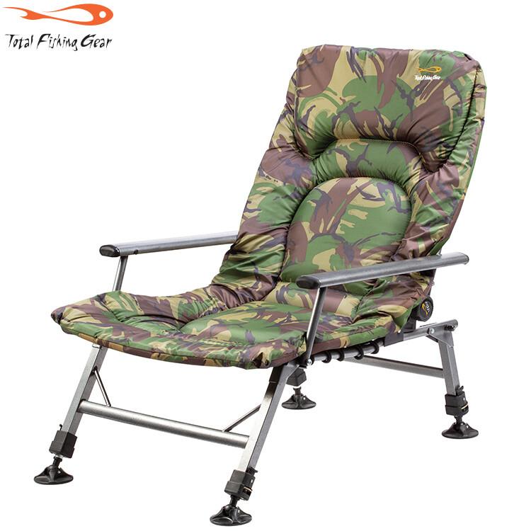 TF Gear Survivor Arm Chair - terep mintás karfás fotel