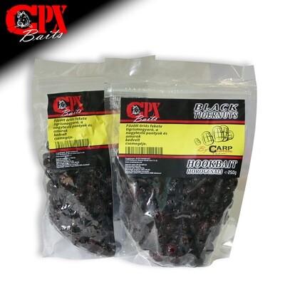 CPX Baits Főtt tigrismogyoró - MEGA BLACK 250 gramm