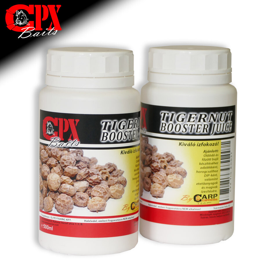 CPX Baits Tigernut Booster Juice 500ml - Tigrismogyoró tej