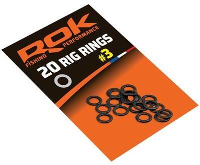 ROK RIG RING - Szerelék gyűrű - 20 darab/csomag