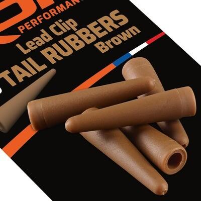 ROK Lead Clip TAIL RUBBER - ólomkapocs záró gumi - 10 darab/csomag