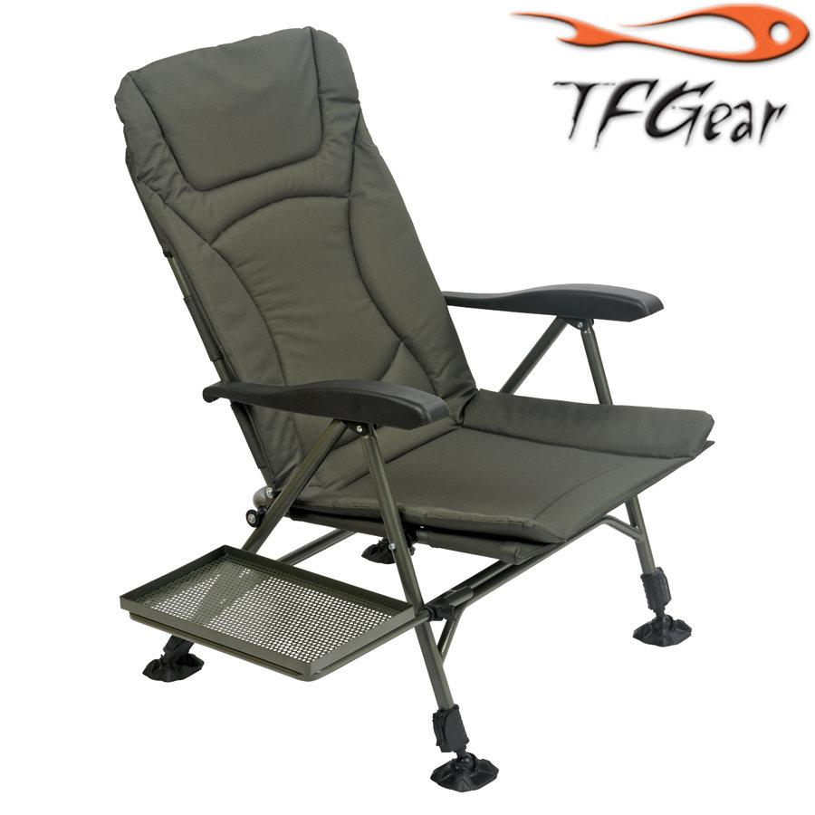 TF Gear FlatOut - Recliner - Arm Chair (Free Side tray) - karfás szék oldaltálcával