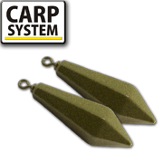 Carp System Long Cast swivel - Távdobó forgós ólom - 120g - 1 darab