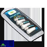Kryston STYX Handy Pack Rig Glue - Szerelék és csomó rögzítõ ragasztó - 3x kb.:0,5gr