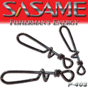 SASAME Kapocs (csavart csali rögzítõ) - Black Nickel