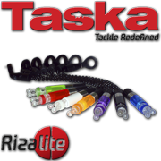 TASKA Carp - Rizalite Ball Chain Ball Clip Set Black