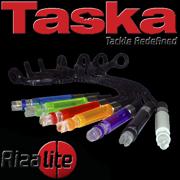 TASKA Carp - Rizalite Chunky Chain Line Clip Set White