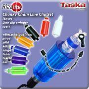 TASKA Carp - Rizalite Chunky Chain Mega body V Clip Set Blue