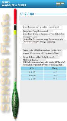 SENSOR ÚSZÓ SF 2-180