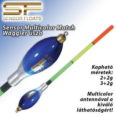Sensor Multicolor Match Waggler úszó (SF 2-186)