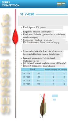 SENSOR ÚSZÓ SF 7-028