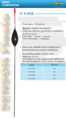 SENSOR ÚSZÓ SF 9-018