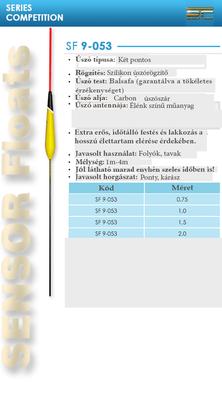 SENSOR ÚSZÓ SF 9-053