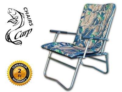 Carp F7R Karfás horgász fotel - hardwoods terep