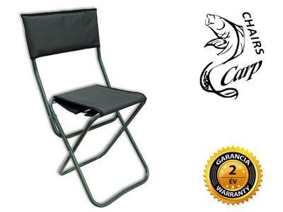 Carp WP5 ZO - Tábori szék háttámlával ZÖLD