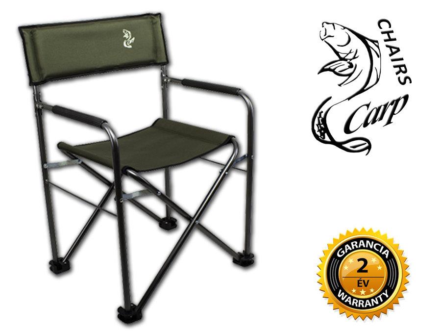 Carp F6 Karfás horgász rendezõi szék - zöld