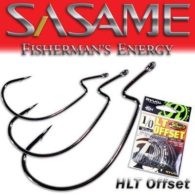 SASAME Ryugi LT Offset speciális horog - Black Nickel